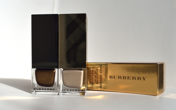 Burberry nail polish for Tiffanyand Couture