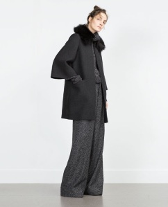 Zara coat on Tiffany and couture